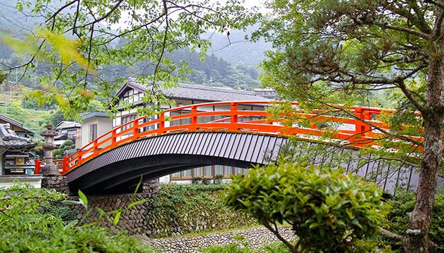 太鼓橋(室生寺)