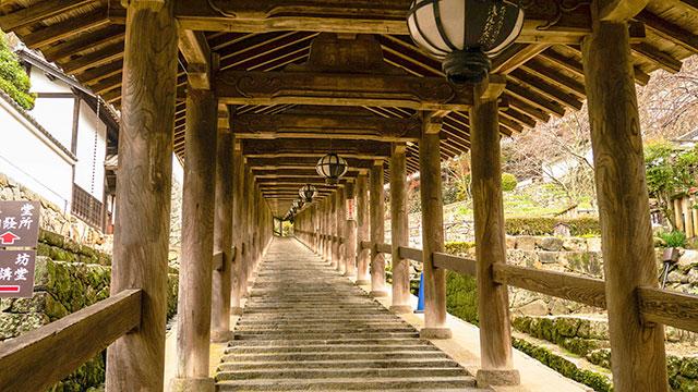 登廊(奈良 長谷寺)