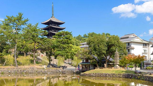 興福寺(猿沢池)