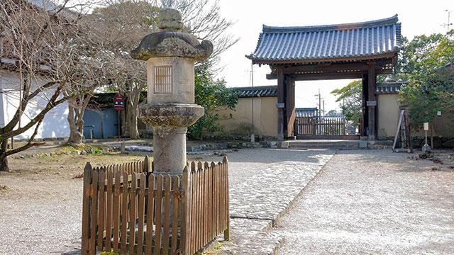境内(新薬師寺)