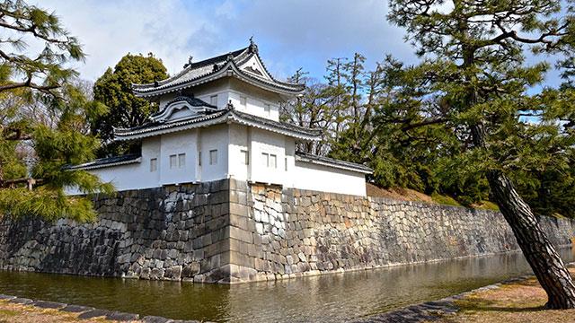 西南隅櫓(二条城)